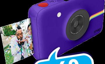 Спечелете 60 фотоапарата Polaroid Snap от Milka и Kaufland