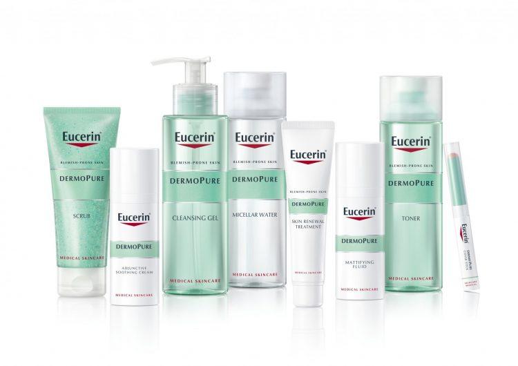 Спечелете козметични награди от серията Eucerin® DERMOPURE