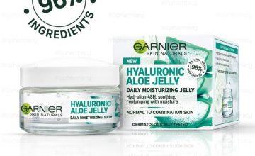 Спечелете 50 хидратиращигелове за лице Hyaluronic Aloe Jelly