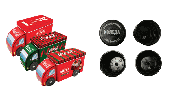 Спечелете 450 000 коледни метални кутии-камиони от Coca-Cola