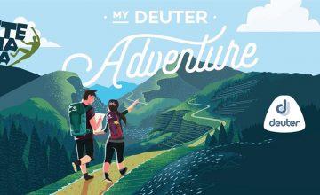 Спечелете комплект за пътешественици Deuter