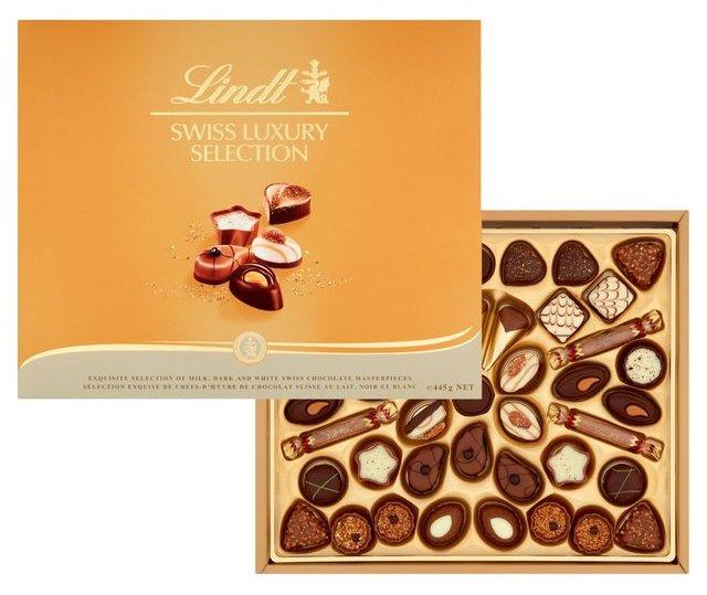 Спечелете 10 кутии Swiss Luxury Selection от Lindt