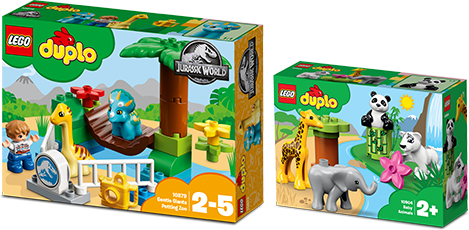 Спечелете 100 конструктора LEGO DUPLO
