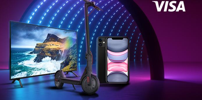 Спечелете телевизор Samsung, смартфон iPhone и 100 ваучера по 99 лева всеки за пазаруване в eMAG