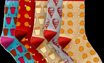 Спечелете 50 чифта уникални чорапи от KFC