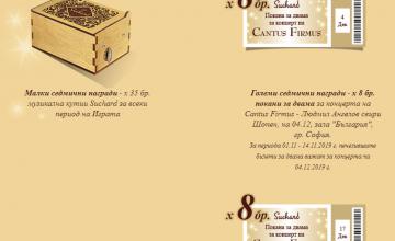 Спечелете 140 музикални кутии от Suchard