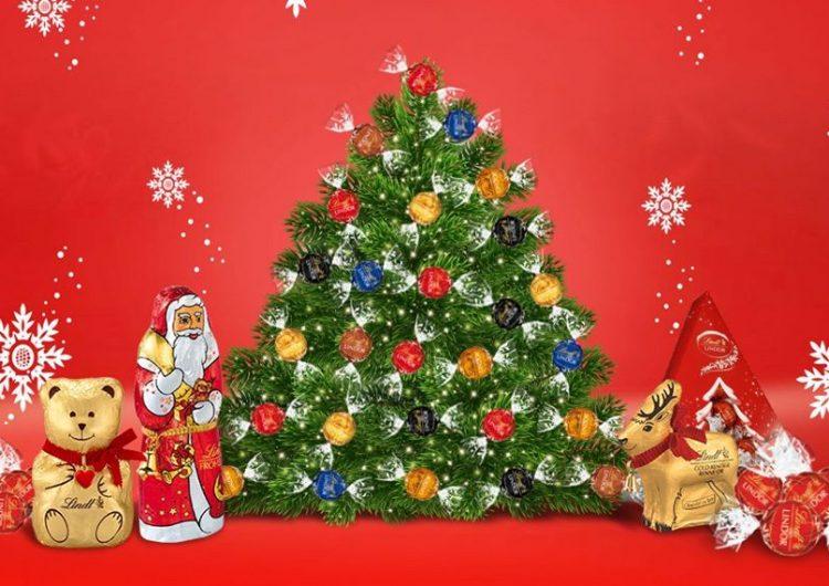 Спечелете 15 бонбониери Lindt Коледно дърво