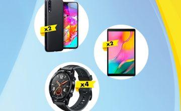 Спечелете смартфони, смарт часовници и таблети