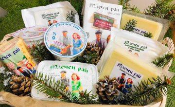 Спечелете кошница с млечни продукти Млечен рай
