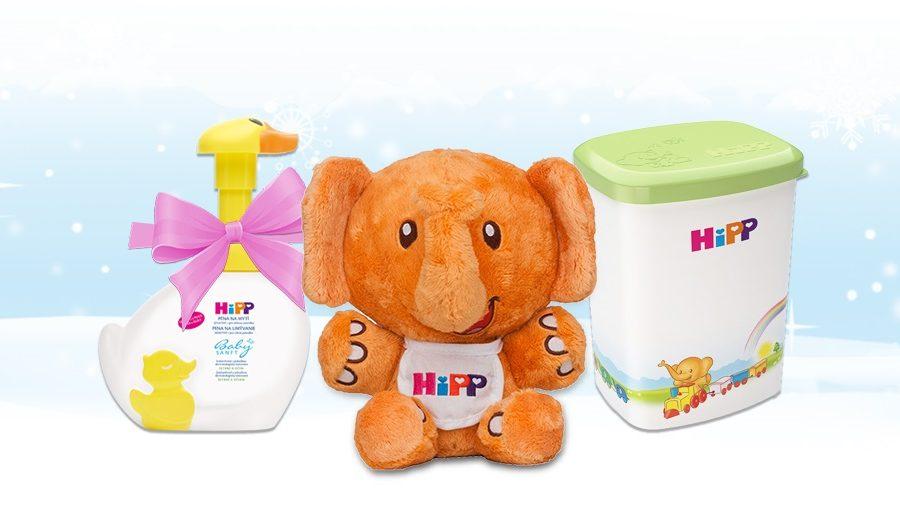 Спечелете чудесни награди всеки ден от HiPP