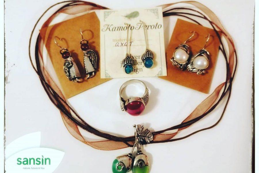 Спечелете авторски бижута от сребро и естествени камъни