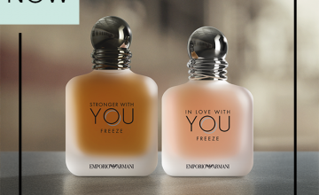 Спечелете новата двойка аромати от Emporio Armani: Stronger With You за него и In Love With You за нея