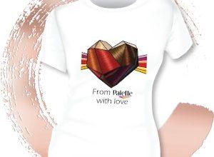 Спечелете чудесни тениски Palette и четки за боядисване