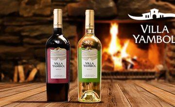 Спечелете специално селектирани вина от Вила Ямбол