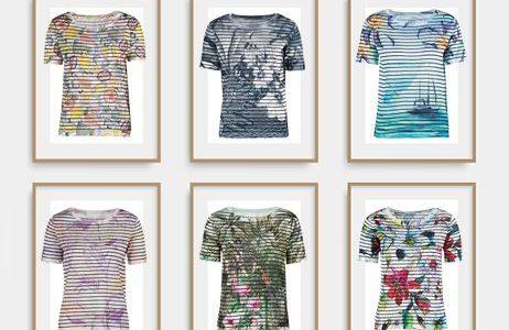 Спечелете 10 блузи с авторски принт от DIKA