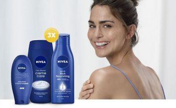 Спечелете три козметични комплекта с продукти NIVEA