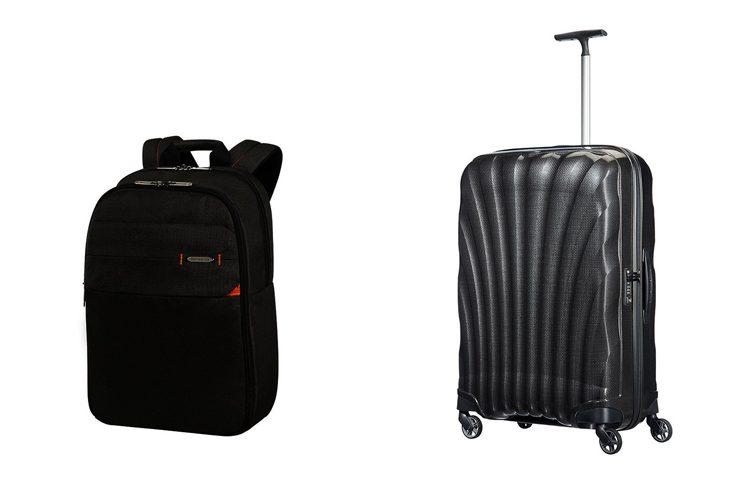 Спечелете куфар Samsonite Cosmolite в комплект със самолетни билети за двама или три раници за лаптоп