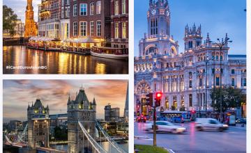 Спечели пътуване до Лондон, Амстердам или Мадрид