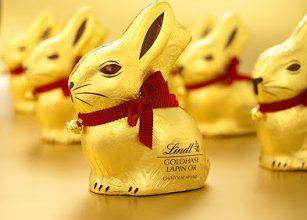 Спечелете 15 шоколадови златни зайчета Lindt 200 гр.