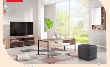 Спечелете тв модул, холна маса, тоалетка и табуретка от мебели Виденов