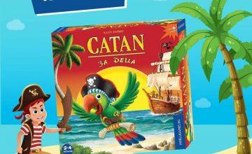 Спечелете настолна игра Catan за деца