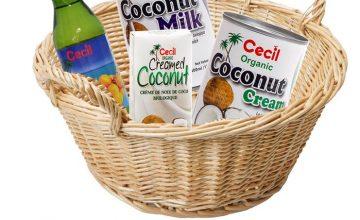 Спечелете кошница с кокосови продукти от Cecil