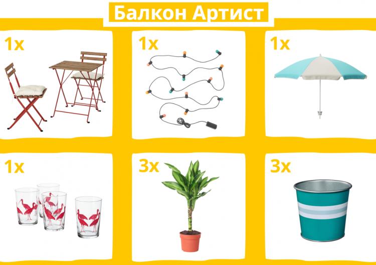 Спечелете градински комплект TÄRNÖ, декорация за балкон и специални подаръци за трима приятели