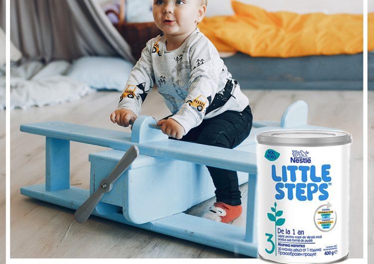 Спечелете 80 кутии от млечната напитка на NESTLÉ® Little Steps 3