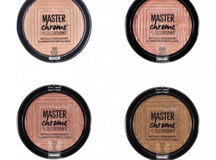 """Спечелете хайлайтър """"Master Chrome"""" от Maybelline"""