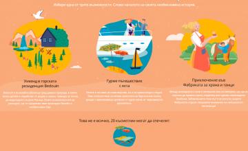 Спечели приключение, което ще ти покаже България по нов начин и още 60 чудесни награди от ИКЕА