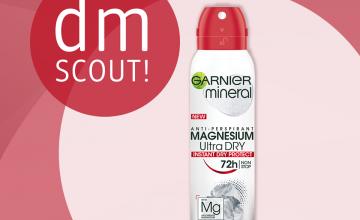 Спечелете 50 антиперспиранти GARNIER Mineral Magnesium Ultra Dry