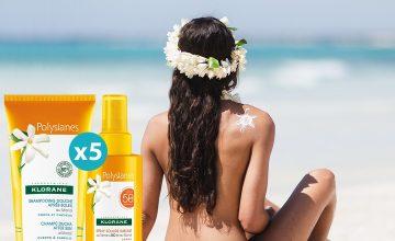 Спечелете пет комплекта слънцезащитни продукти с марка KLORANE