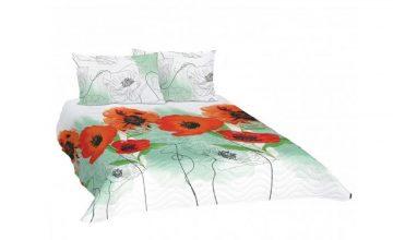 Спечелете чудесен спален комплект – шалте Ранфорс с две калъфки