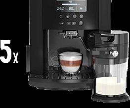Спечелете пет кафеавтомата и 15 кафе машини Krups