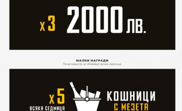 Спечелете пет награди по  2 000 лева и всяка седмица по пет комплекта бутилка Пещерска Отлежала 0.7L и кошница с мезета