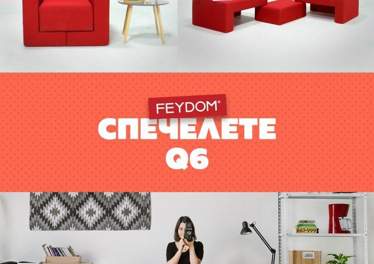 Спечелете фотьойл, табуретка и килим от FEYDOM