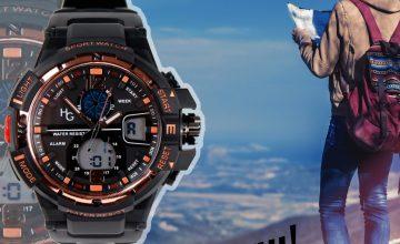 Спечелете спортен часовник Hector Army Gold