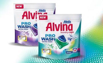 Спечелете 10 комплекта капсули за пране Medix Alvina Laundry Caps