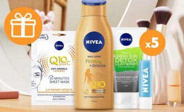 Спечелете 5 beauty сета от Nivea