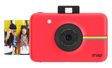 Спечелете дигитален фотоапарат за моментни снимки Polaroid Snap и всеки ден кутия с вафли Морени Orange