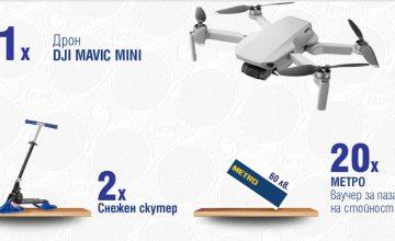 Спечелете дрон, снежни скутери и ваучери по 60 лв. от Zewa