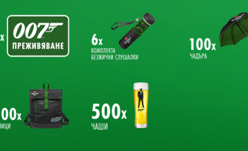 Спечелете над 100 000 чудесни награди от Heineken и 007