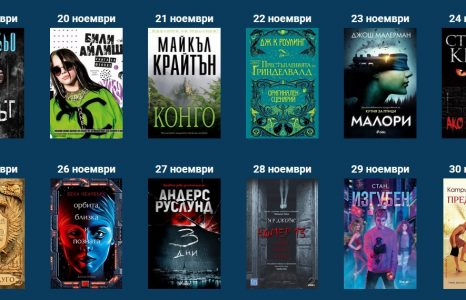 Спечелете чудесна книга всеки ден в играта на Cineboom.eu