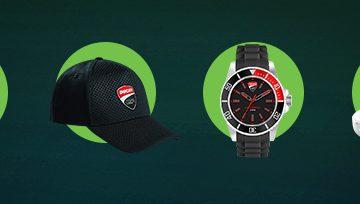 Спечелете безжични слушалки, колонки, чаосвници, шапки, тениски и още награди от Ducati и Motorola