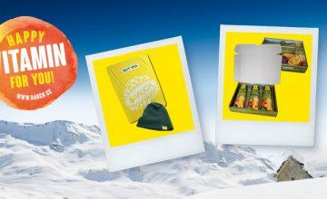 Спечелете чудесни зимни награди шапки, одеяла и комплекти сокове Happy Day