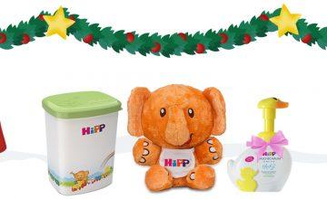 Спечелете всеки ден чудесни награди Коледния календар на HiPP