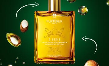 Спечелете 5 Sens сухо масло за коса и тяло на ABSOLUE KERATINE на Rene Furterer