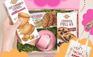 Спечелете 3 чанти пълни с бисквити Violanta