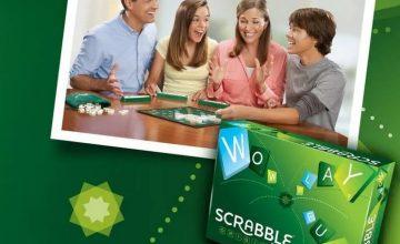 Спечелете 200 настолни игри SCRABBLE ™ ОРИГИНАЛ от Nestle