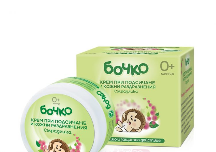 Спечелете пет комплекта с крем при подсичане и влажни кърпички Бочко